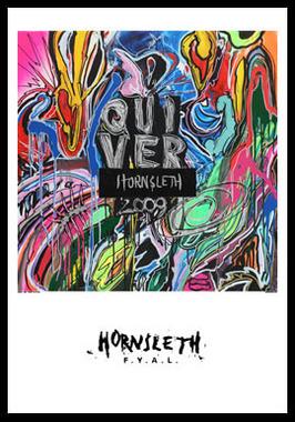 Image of   Quiver af Hornsleth, Print i glas og ramme, 50x70 cm