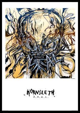 Image of   Scull af Hornsleth, Print i glas og ramme, 50x70 cm