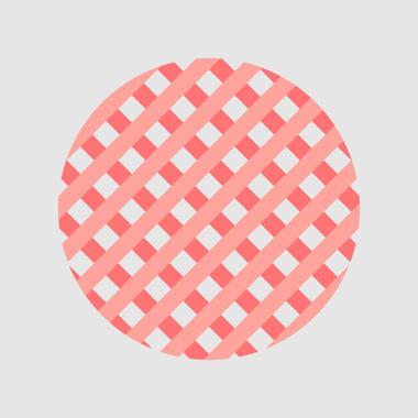 Striped Circle af Mads Hindhede