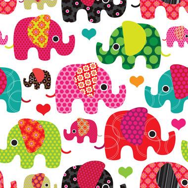 Image of   Sweet elephants af Illux Kids