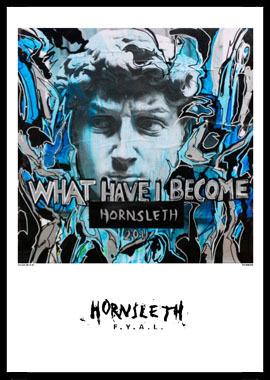 Image of   What have I become af Hornsleth, Print i glas og ramme, 50x70 cm