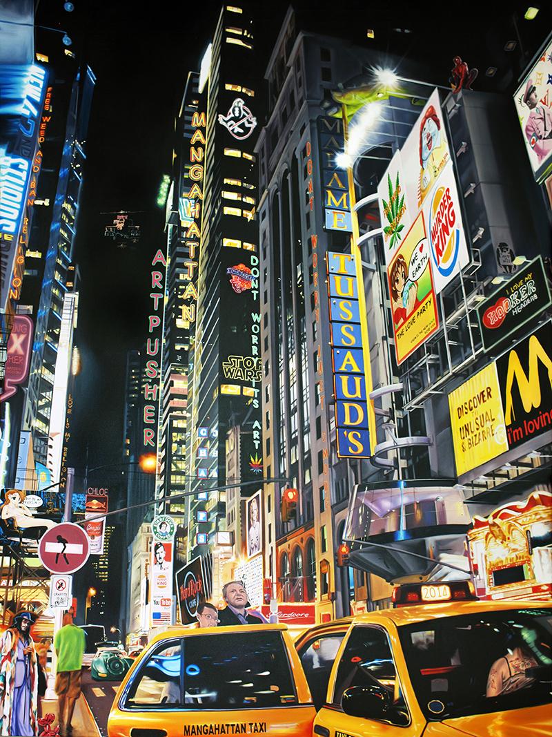 Billede af Mangahattan taxi af Artpusher