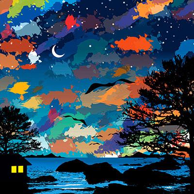 Image of   Northern Lights af Greg Joy