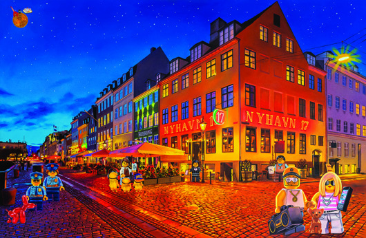 Image of   Nyhavn2 af Artpusher