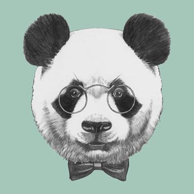 Image of   Plushy Panda af Illux