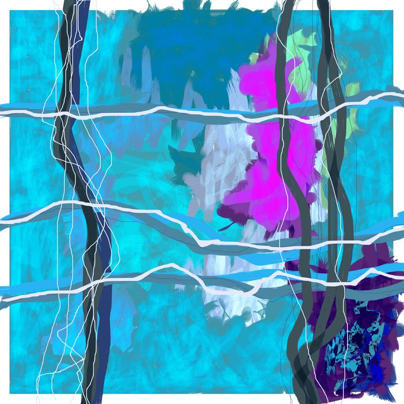Image of   Purple Passion No. 1 af Brisingamen Studio