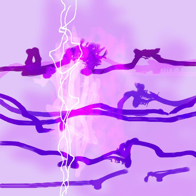 Image of   Purple Passion No. 4 af Brisingamen Studio