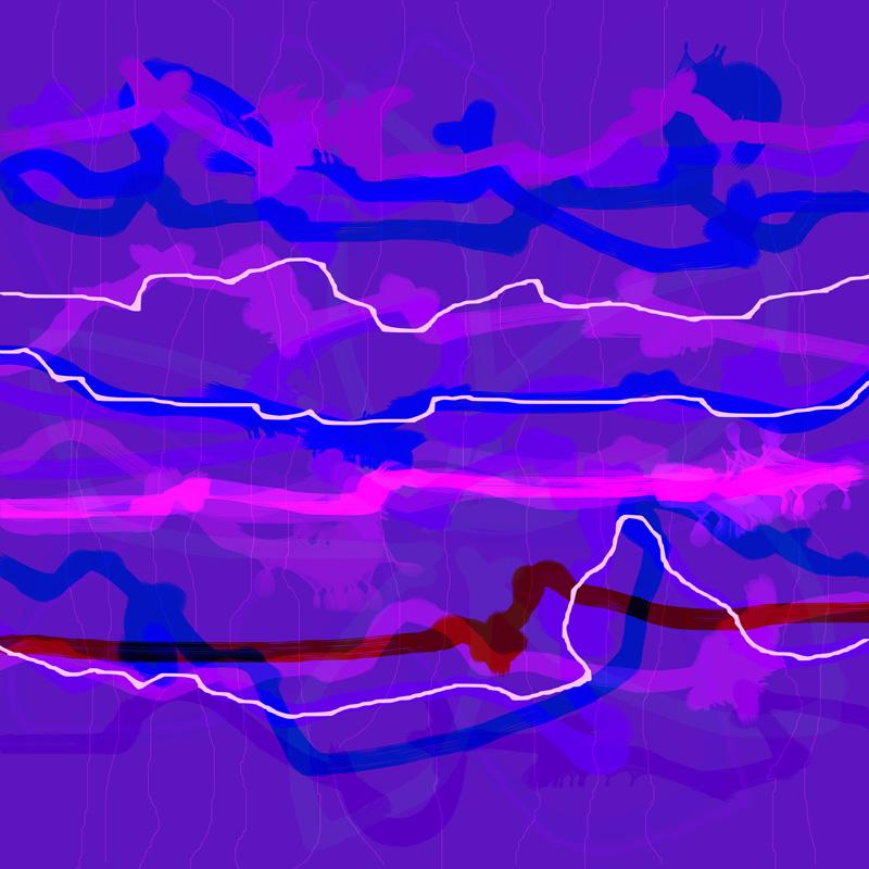 Image of   Purple Passion No. 5 af Brisingamen Studio