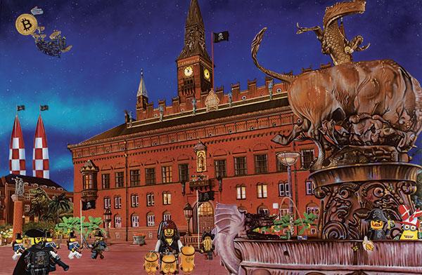 Image of   Rådhuspladsen af Artpusher