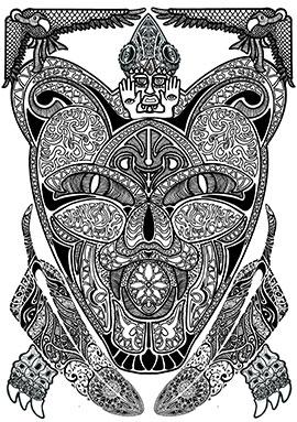 Image of Tiger Combination af Ammar Keylani