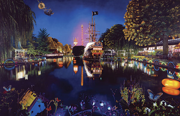 Image of   Tivoli Night af Artpusher