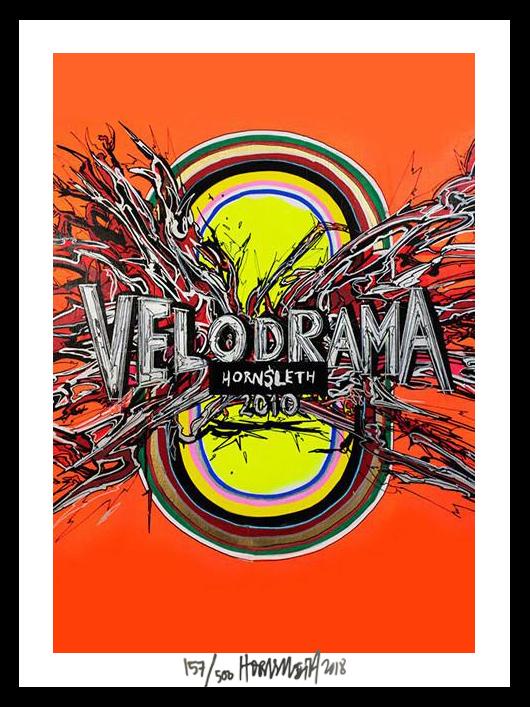Image of   Velodrama - signeret tapet af Hornsleth - signeret og nummereret
