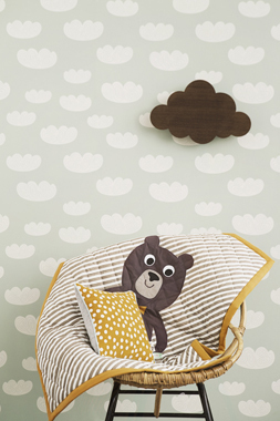 Image of   Cloud, Mint tapet af Ferm Living