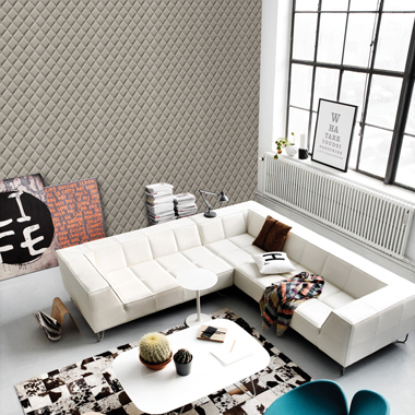 Image of   Quilt tapet af Illux