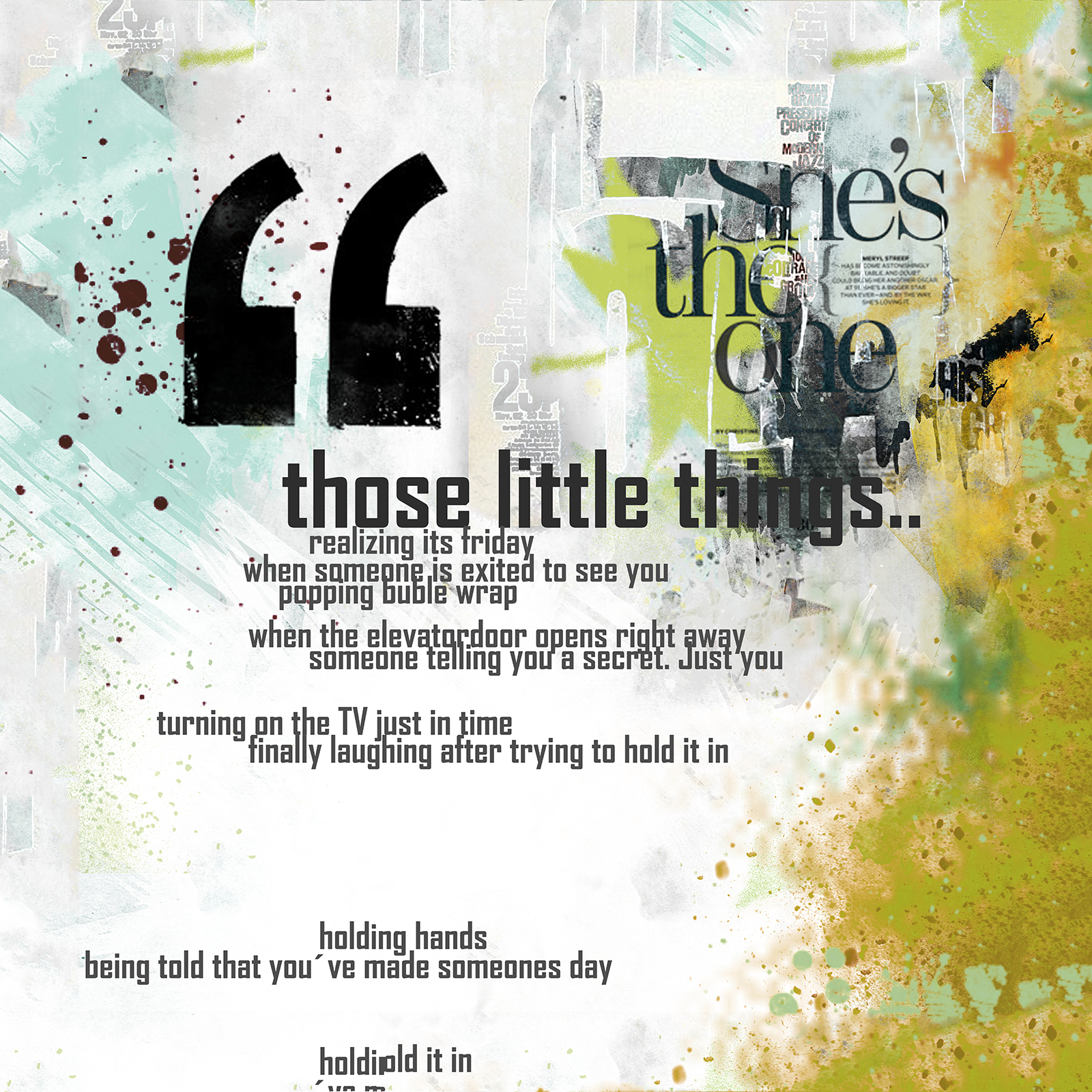 Image of   Those Little Things af Rikke Axelsen