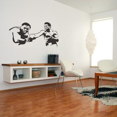 Image of   Ali wallsticker af Jesper Haun, 80x49 cm