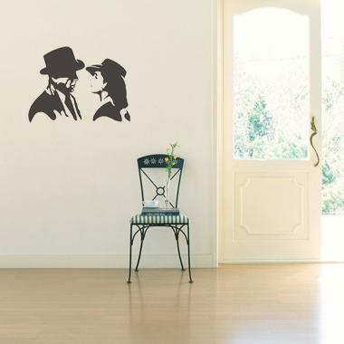 Image of   Bogart wallsticker af Jesper Haun, 56x42 cm