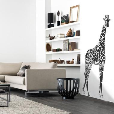 Image of Giraf wallsticker af Anline Ruby, 45x97 cm