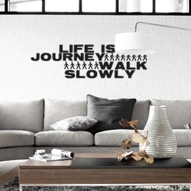 Image of   Journey wallsticker af Diana Lovring, 98x29 cm