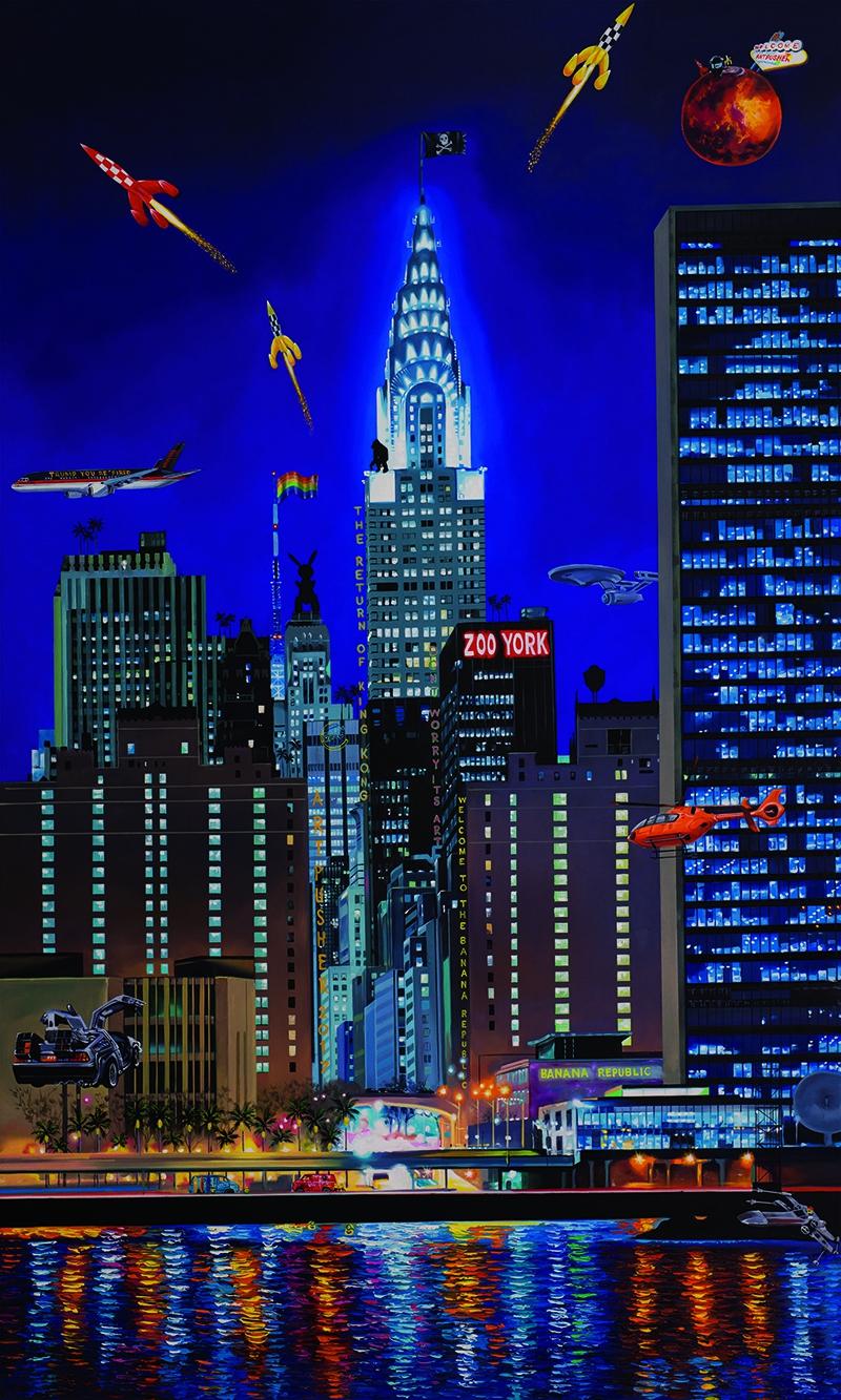 Billede af Zooyorker Chrysler af Artpusher