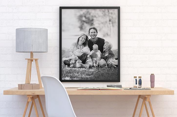 Foto på lærred printet i høj kvalitet - Illux.dk