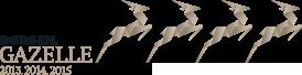 Modtager af GAzelle-prisen 3 år i træk